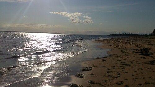 Beach near anchorbelle holiday park, cowes