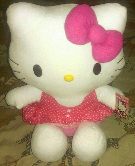#boneka #hellokitty, t.35 cm @ 90.000