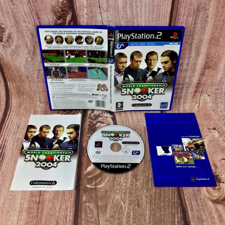 Ps2 Games World Championship Snooker 2004 🎱 PlayStation 2 Game Complete VGC