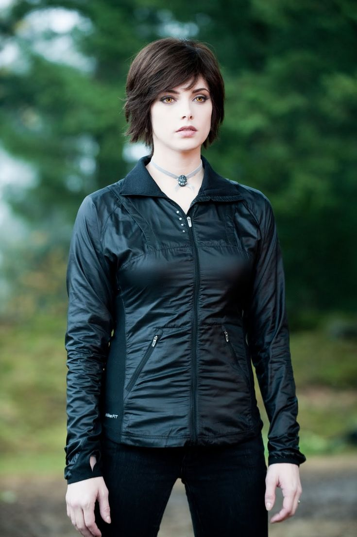 Alice Cullen. Though fictional, she's, like, so cool.