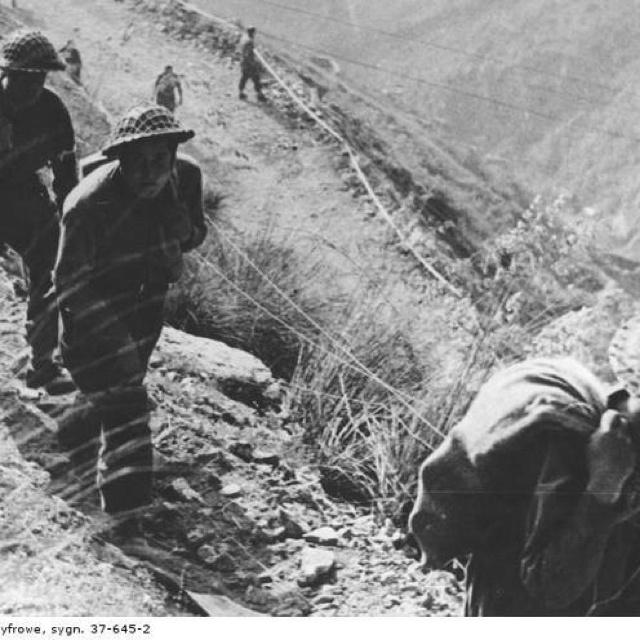 Monte Cassino Polish army Italy