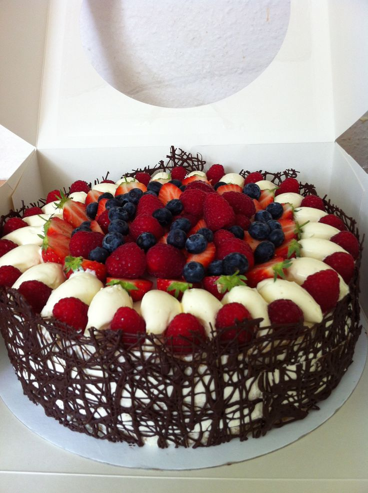 Delicious Looking Special Occasion Cake.