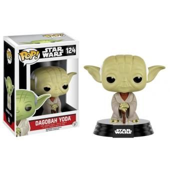 Figurine Star Wars - Dagobah Yoda Pop 10cm