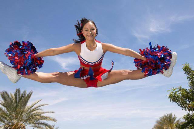 How Cheerleaders Can Perfect Their Toe Touches