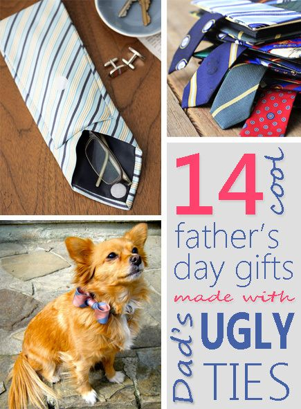 13 Cool Father's Day Gifts Made With Dad's Ugly Ties