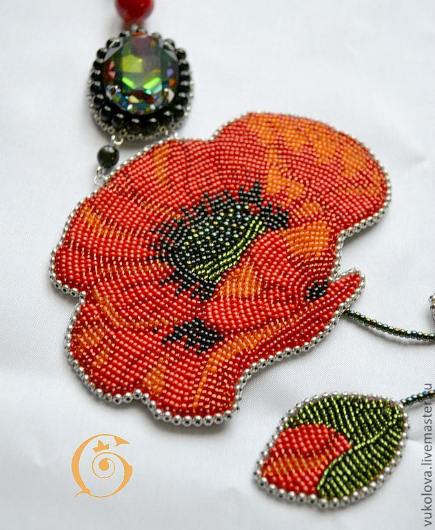 Necklace beads handmade. Fair Masters - handmade lover wind. Handmade.
