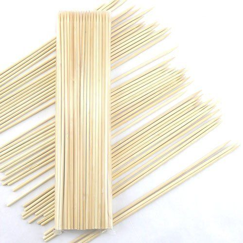 """ThinkBamboo Premium 5mm Thick Extra Long Bamboo Skewers, 30"""" (76cm) - 100pc Bag by ThinkBamboo - Skewers. $22.88"""