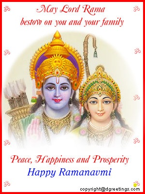 Dgreetings - Ram Navmi Cards