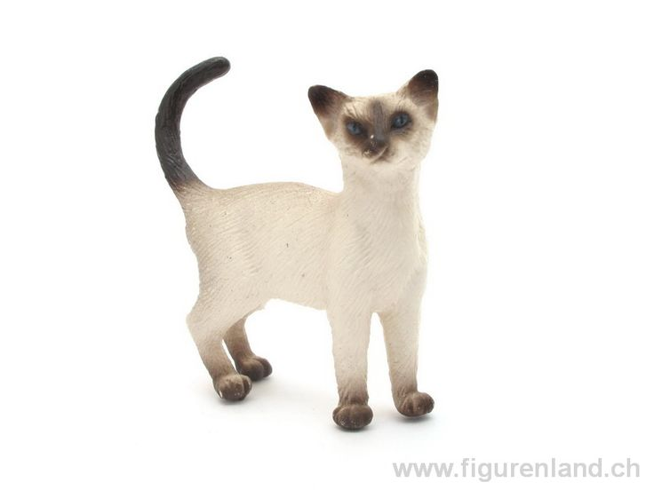Schleich Male Stretching Cat Toy Figure