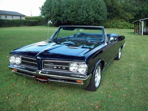 65 best pontiac gto images on pinterest vintage cars for Classic american muscle cars for sale