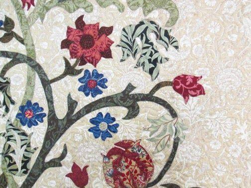 Betty S William Morris Quilt Barbara Brackman S Material