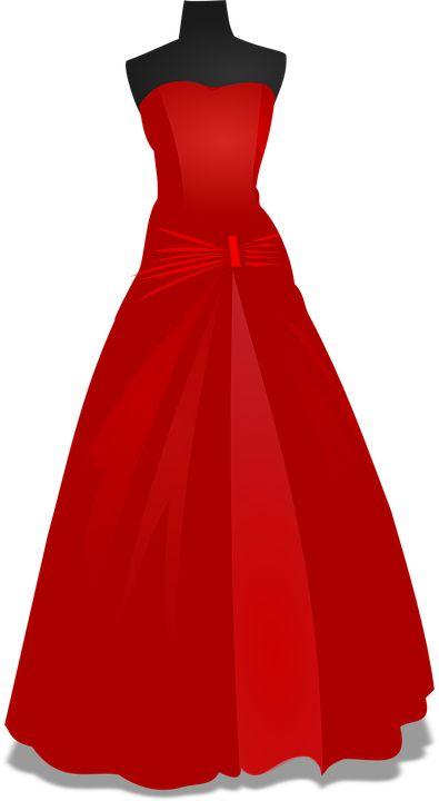 Kjole, Rød, Robe, Bryllup, Brudekjole, Ægteskab, Kvinde