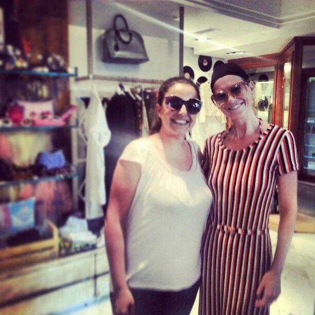 Ellen pompeo grey's anatomy in Wonderland Capri vintage store