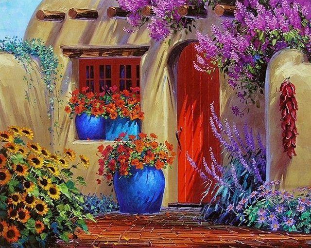 La pittrice americana Mikki Senkarik, è nata a Oak Ridge, nel Tennessee. Più tardi la sua famiglia si trasferì in Florida, dove è cresci...
