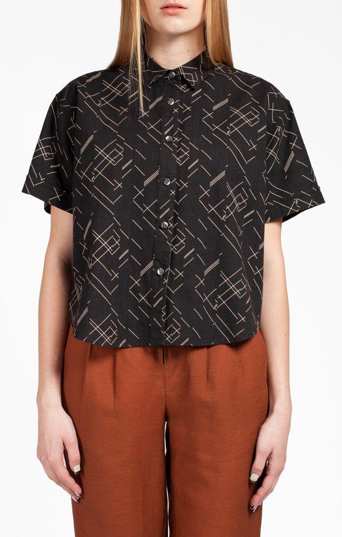 Lifetime Collective / Women's Collection / Wovens / Chosen One Crosshatch Shirt