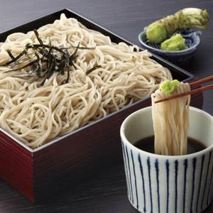 zaru soba 【信州戸隠 石臼挽き生そば】with fresh raw wasabi