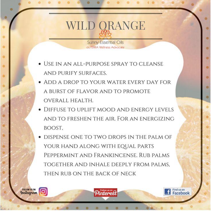 Wild Orange Essential Oil  Facebook: https://www.facebook.com/sunnyessentialoils/  Instagram: @sunnyessentialoils