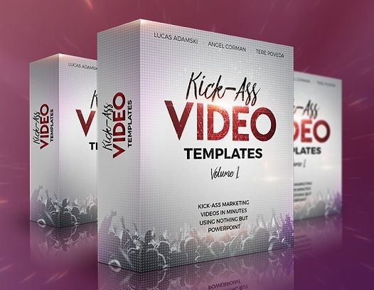 Kick-Ass Video Templates is a hot mega collection with dynamic and engaging powerpoint video templates! It comes with 90 powerful templates (60 front end + 30 upsell) divided into 5 modules.