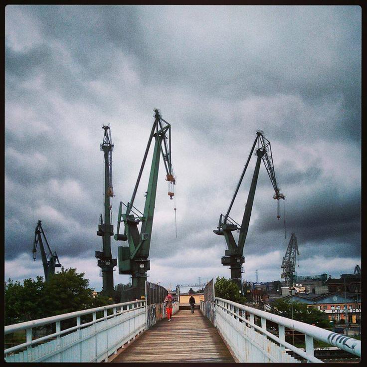 View at Gdansk Shipyard, photo by Paweł Klikowicz