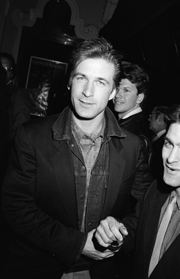 And this smirk? | A Tribute To Young Alec Baldwin: A Hottie That Cannot Be Forgotten