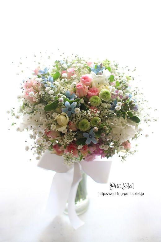 カスミ草 ブーケ baby's breath bouquet