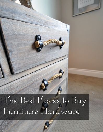 """The best way to add the """"wow"""" factor to an old piece of furniture (or even a new one) is to replace the hardware. Fancy hardware can make an """"eh"""" piece of furniture look amazing. In fact, I went ..."""