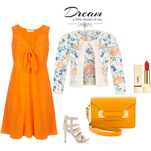 10 Ways to Wear an Orange Dress - Outfit Ideas HQ