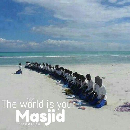 """""""The earth has been made for me as a masjid"""" What Does this Hadith Mean? Find out here:"""
