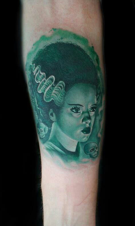 1000+ images about Bride of Frankenstein Tattoos on ...