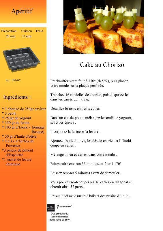 cake au chorizo copie