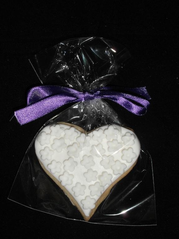 Wedding favour biscuits - Fondant Fantastic