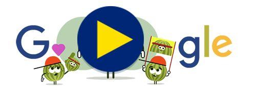 A 2016-os Doodle Fruit Games 10. napja! További információ: g.co/fruit