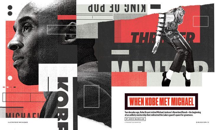 ESPN The Magazine / 0509 / Fame Illustration by Mike McQuade http://mikemcquade.com