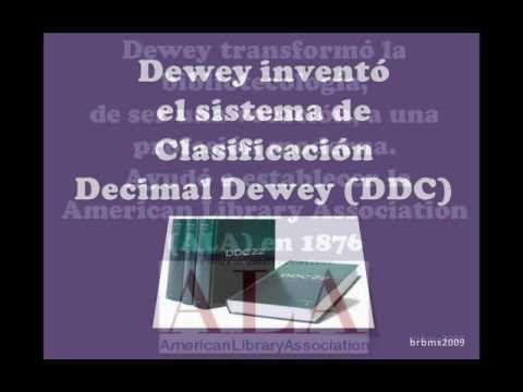 Sistema Decimal de Clasificación de Melvil Dewey