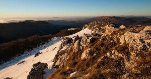 Campo dell'Osso (Subiaco) Tramonto invernale: trekking e workshop fotografico sul Monte Autore   Aniene WildernessAniene Wilderness