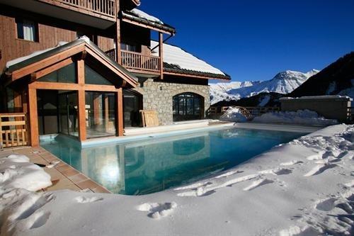 Zwembaden in de winter en sneeuw - Winter and snow swimmingpools #Fonteyn