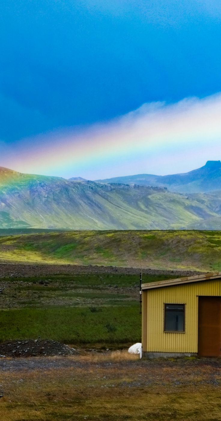 Rainbow in Iceland. | worldering around. Iceland off the beaten path with the exact location map of the hidden places. Hidden gems in Iceland, unknown glacier lagoon, quieter version of Jökulsárlón glacier lagoon, must see places in Iceland, Iceland what to do, Iceland what to visit, top sights in Iceland, Iceland bucket list, best Iceland photos, pictures Iceland, Iceland inspiration, travel pictures, wanderlust