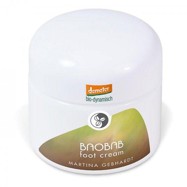 Martina Gebhardt BAOBAB Foot Cream 50 ml: https://www.nordjung.de/martina-gebhardt-baobab-foot-cream-50-ml #naturkosmetik #Baobab #cream