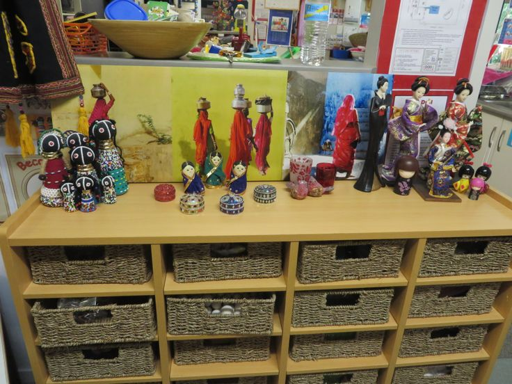 one or our displays in our room
