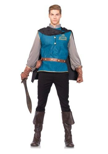 The 25 best snow white prince costume ideas on pinterest disney our storybook prince halloween costume for men includes shirt with crest detail cape studded belt and gloves solutioingenieria Images