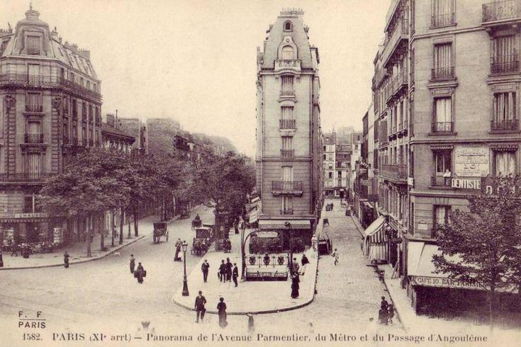 avenue Parmentier- Paris 10e/11e