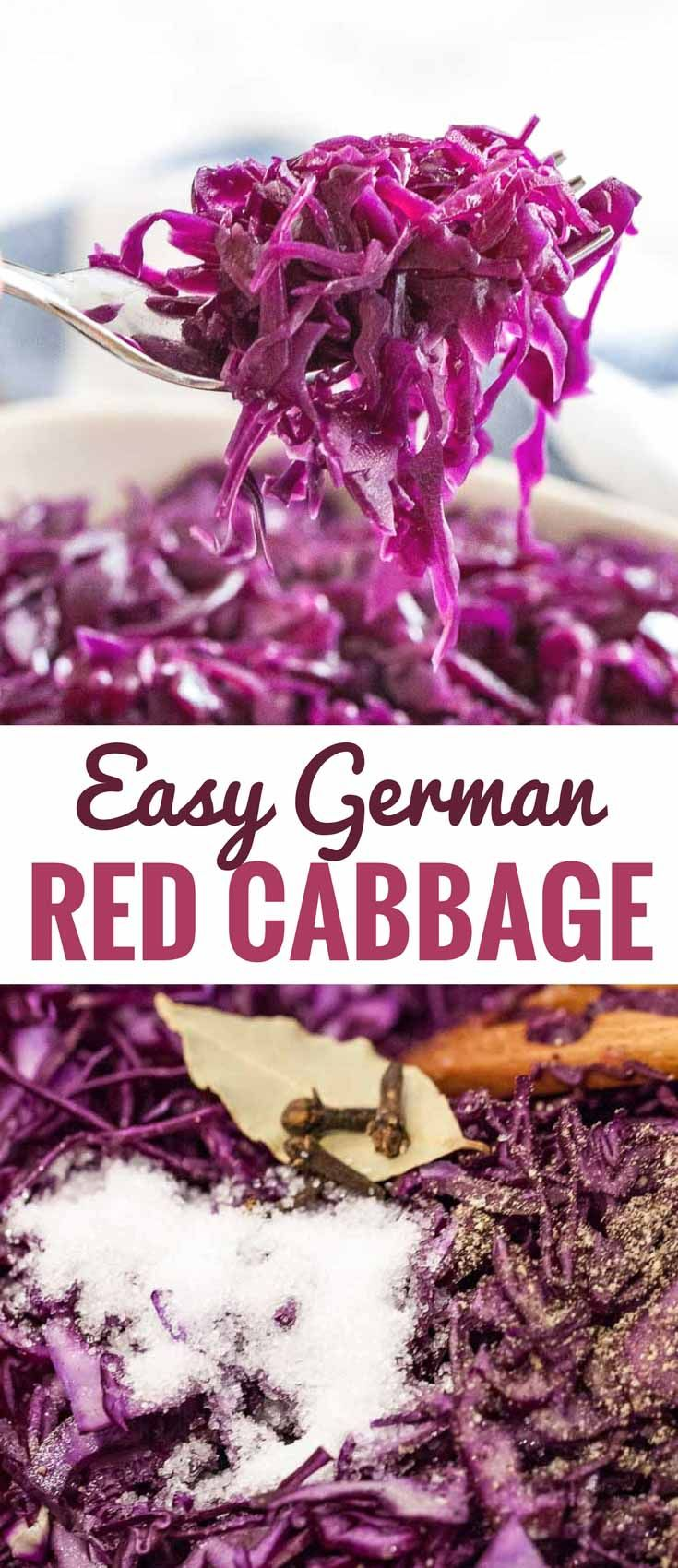 German Red Cabbage (Rotkohl) is a popular German side dish that is very easy to …