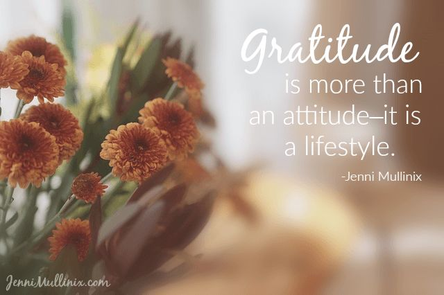 What my two-year-old taught me about giving thanks. Gratitude is more than an attitude--it is a lifestyle