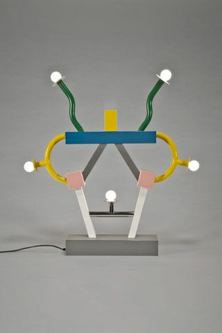 the modern archive - Ashoka Lamp by Ettore Sottsass for Memphis