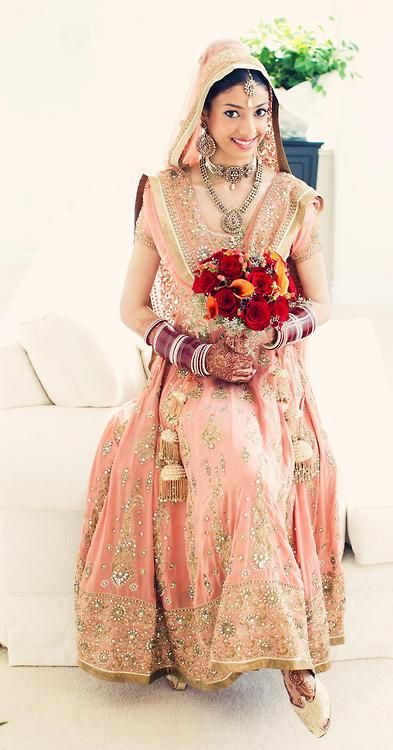 BeautifulSouthAsianBrides : Desi Weddings @ http://ViyahShadiNikah.Tumblr.com/ Photo via Faye Smith MU