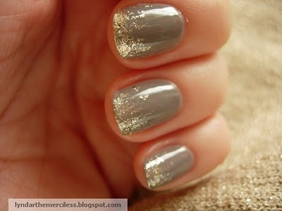 glitter nails my-style: Idea, Nail Polish, Glitter Nail, Style, Makeup, Sparkle, Nails, Beauty, Nail Art