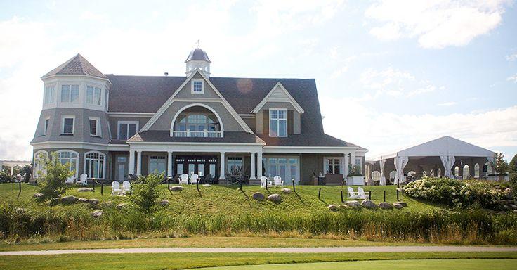 Cobble Beach Clubhouse - Georgian Bay Golf Resort - Waterfront Wedding Venue