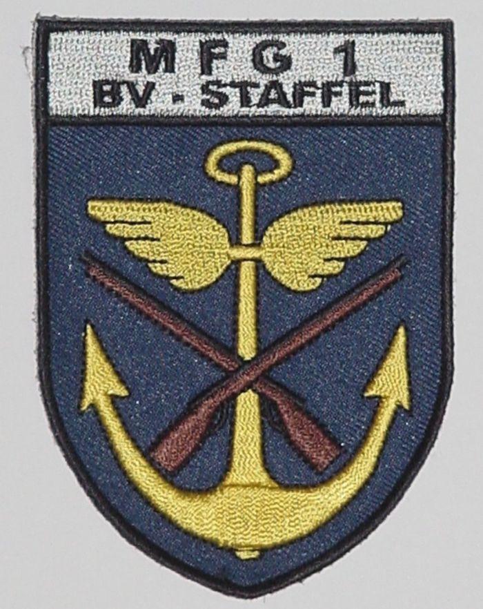 Aufnäher Patch MFG 1 Bv - Staffel - Marinefliegergeschwader 1