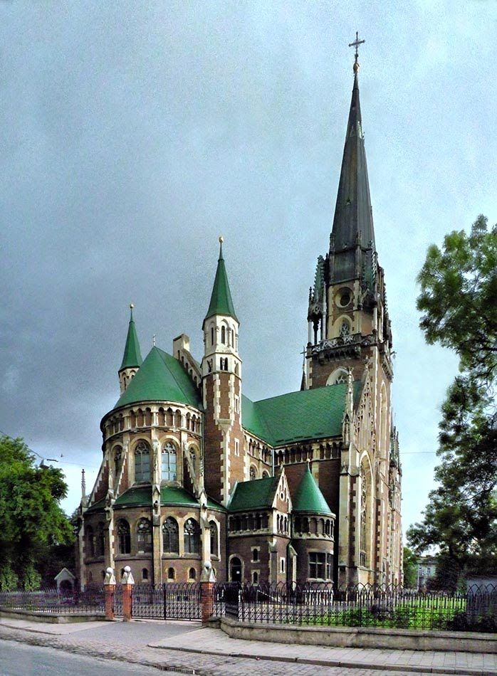 The Church of St. Olha and Elizabeth. Lviv. Ukraine.