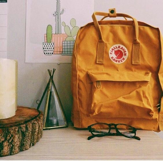 45 Best Yellow Fjallraven Kanken Images On Pinterest